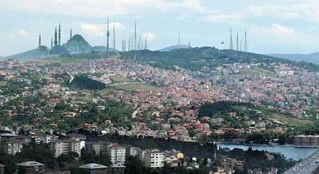Çamlıca Camisi, Ayasofya ve Sultanahmet'e nazır inşa edilecek!