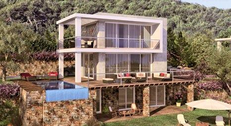 Bodrum Yasemin Villaları'nda 325 bin Euro'ya!