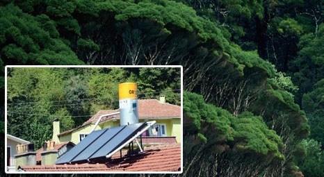 Zonguldak'ta ormanı köylülere verilen güneş enerjisi sistemleri kurtardı!