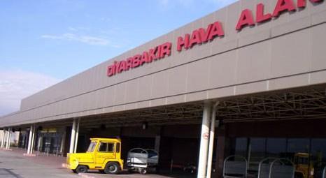 Diyarbakır'a 200 milyon liralık yeni havalimanı geliyor!
