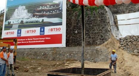 BTSO Ek Hizmet Binası'nın temeli Altıparmak Meydanı'nda atıldı!