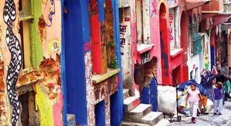 Kentsel dönüşümün gözdesi Tarlabaşı, Streetart Festivali'ne ev sahipliği yapıyor!