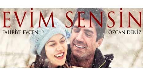 Özcan Deniz'in yeni filmi Evim Sensin'in çekimleri Mall of İstanbul'un şantiyesinde yapıldı!