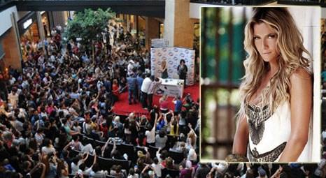 Ivana Sert, Forum Fashion Week'de gittiği Forum Trabzon'da izdihama neden oldu!