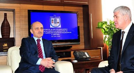 Erdoğan Bayraktar Uşak'ta kentsel dönüşüm projesinin temelini attı!
