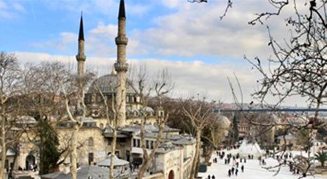 Eyüp Sultan Camii'ne üç boyutlu ve lazerli rölöve yapılıyor!