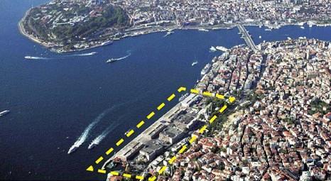 Galataport projesinin yeni imar planı onaylandı! Bina yüksekliği 21.5 metrede sınırlandı!