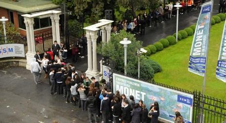 Sakıp Sabancı Müzesi'ndeki Monet'in Bahçesi Sergisi yoğun ilgi görüyor!