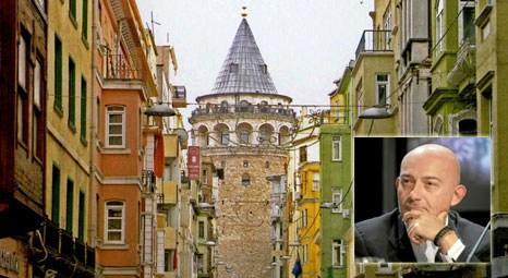 Karaköy ve Galata, yatırımcıların gözdesi oldu! Ferit Şahenk, Kuledibi'nde bina satın aldı!