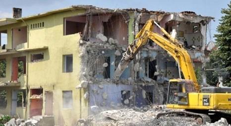 Afet riski altındaki 124 kamu binası yıkıldı! İstanbul yıkılan 48 kamu binasıyla ilk sırada!