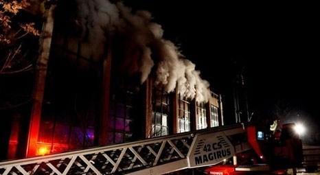 Ankara Ticaret Odası'nın arşiv bölümünde çıkan yangın kontrol altına alındı!