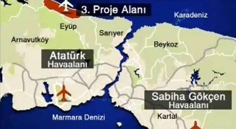Financial Times Gazetesi: İstanbul'daki üçüncü havalimanı Avrupa'nın en büyüğü olacak!