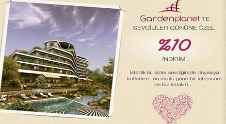 Gardenplanet'te Sevgililer Günü'ne özel yüzde 10 indirim!