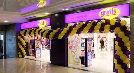 Gratis 2013 yılında 50 yeni mağaza daha açacak!