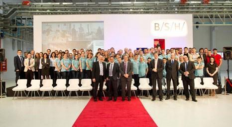 BSH Küçük Ev Aleti Fabrikası 20 milyon TL yatırımla üretime başladı!