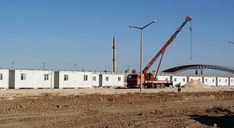 En büyük konteyner kent Kilis'e kuruluyor!