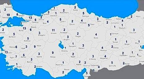 Türkiye'deki organize sanayi bölgelerinin sayısı 276'ya ulaştı!