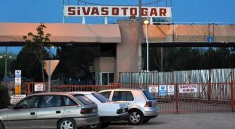 Sivas'ta şehirlerarası otobüs terminali inşaatı çöktü!