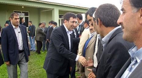 Cevdet Yılmaz Bingöl Çavuşlar Köyü Cami ve Külliyesi'nin temellerini attı!