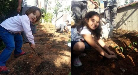 Adanuspark'ın hobi bahçesinde çocuklar organik tarım yapıyor!