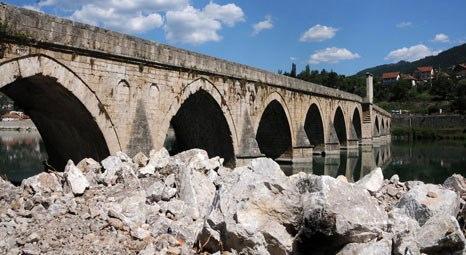 Sokullu Mehmet Paşa Köprüsü'nün restorasyonu devam ediyor!