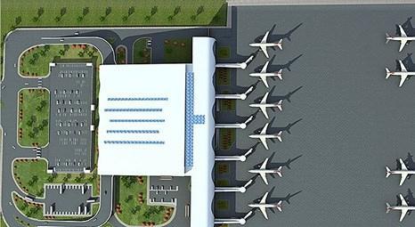 Diyarbakır Havalimanı'na yeni terminal binası geliyor!