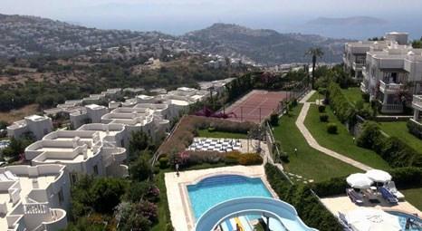 Muğla Bodrum'da Hillwiew Garden ve Karakaya Garden'de 1 milyon liraya satılık 5 villa!
