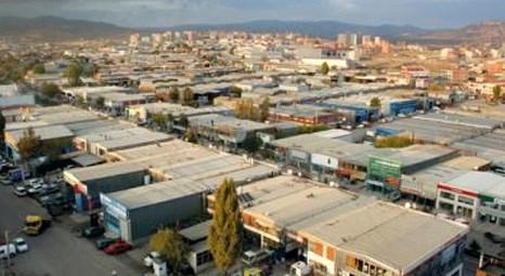 Ankara Ostim Sanayi Sitesi'nde satılık dükkan! 600 bin liraya!
