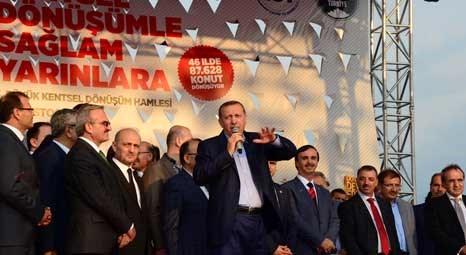 Recep Tayyip Erdoğan, Erciş'te telekonferansla kentsel dönüşüm projesini başlattı!