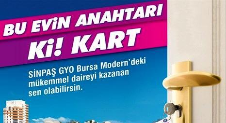 Kent Meydanı AVM Sinpaş Bursa Modern projesinden ev hediye ediyor!