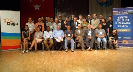 Dünyanın kuruyan gölleri için Burdur'da buluşuldu!