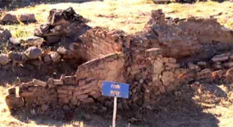 Kayseri Kültepe'de 4 bin yıllık atık su kanalı ortaya çıkarıldı