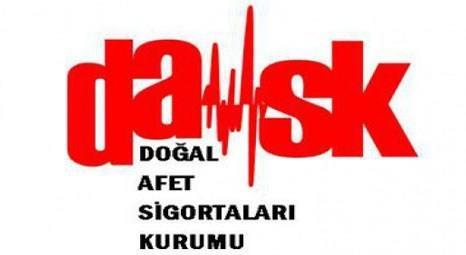 DASK'tan zorunlu deprem sigortasını yenileyene yüzde 20 indirim