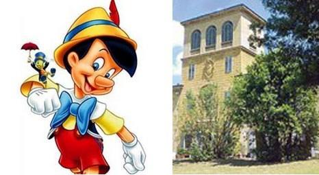 Pinokyo'ya ilham veren Collonata villası 10.5 milyon Euro'dan satışta