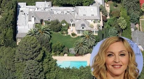Madonna Beverly Hills'teki evini 39.4 milyon liraya sattı