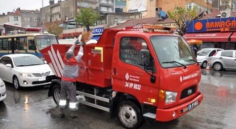 Ümraniye'de 'Çöp Taksi' uygulaması başladı