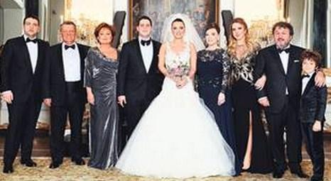 Mimar Ceren Öztürk ile Hasan Yılmaz Çırağan Sarayı'nda evlendi