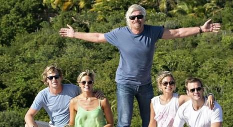 Richard Branson yanan evinin yerine yenisi yaptırdı