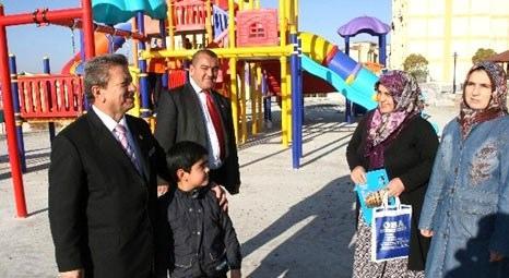 Yozgat Belediyesi 80 dönüm üzerine park yapıyor