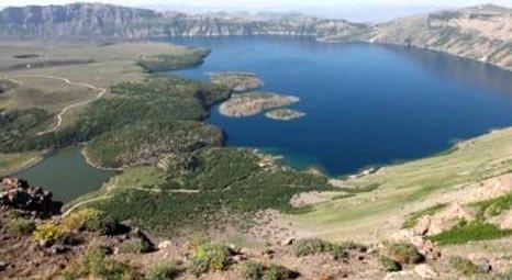 Nemrut Kalderası'nda 250 noktada sıcak su arayışı