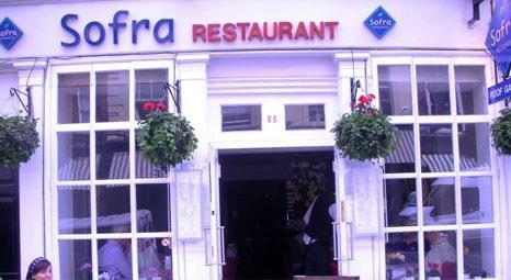 Londra'nın ünlü Türk restorantı Sofra kapanıyor