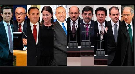 Recep Tayyip Erdoğan yeni kabineyi açıkladı