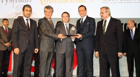 Bosch Rexroth, Ekonomi Oscarları'nın ikincilik ödülüne layık görüldü