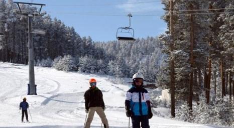Cıbıltepe Kayak Merkezi'nde doluluk oranı yüzde 100'e ulaştı