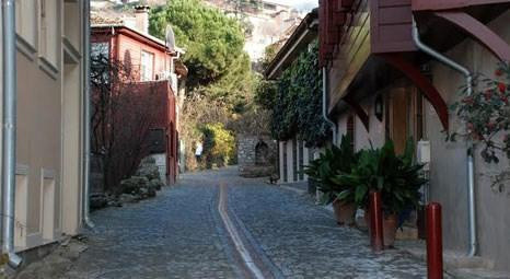 Beykoz Belediyesi, Anadoluhisarı'ndaki tarihi sokakları yeniledi