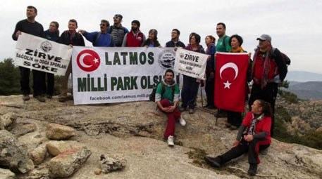 "Beşparmak Dağları'na ""Latmos Milli Park Olmalıdır"" çağrısı"