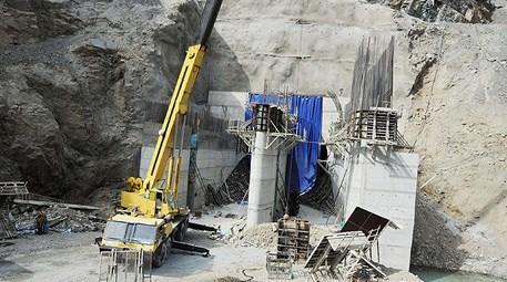 Artvin Yusufeli Barajı inşaatında son durum