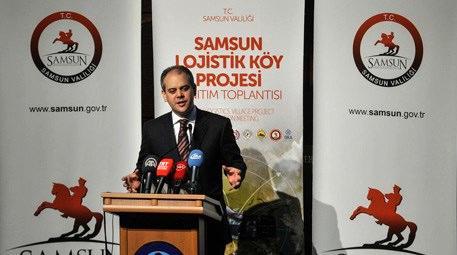 Akif Çağatay Kılıç, Samsun Lojistik Köy Projesini tanıttı