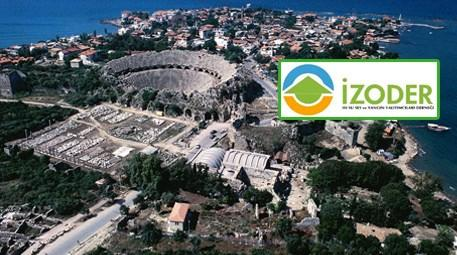 Antalya ve İZODER logosu