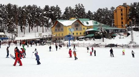 Kars Cıbıltepe Kayak Merkezi'nde sezon kapandı